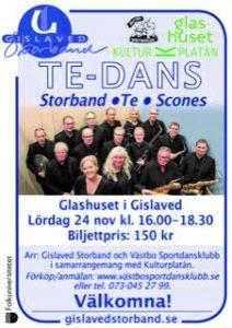 Tedans @ Glashuset | Gislaved | Jönköpings län | Sverige