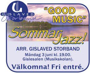Sommarjazz: Good Music @ Gislesalen | Gislaved | Jönköpings län | Sverige